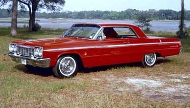 1964 Impala 2dr Hard Top Interior Kit