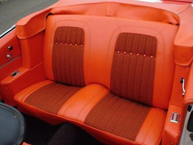 Admirable 69 Camaro Convertible Rear Seat Covers Deluxe Houndstooth Machost Co Dining Chair Design Ideas Machostcouk