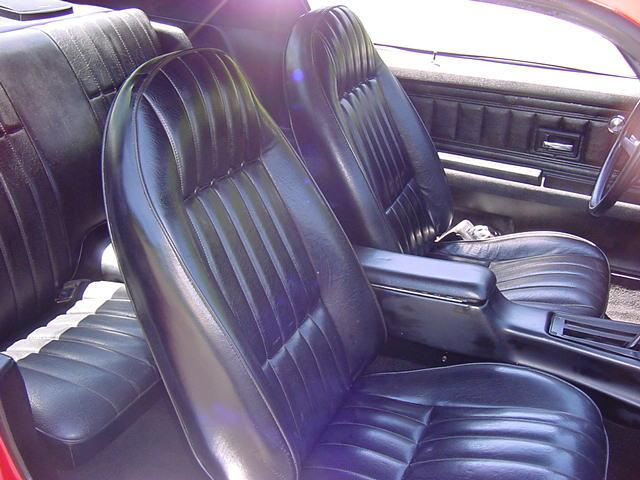 72 Camaro Bucket Seat Covers Standard