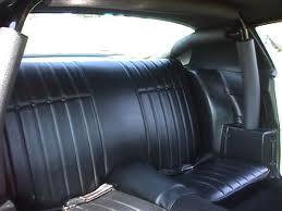 73 Camaro Rear Seat Covers Standard