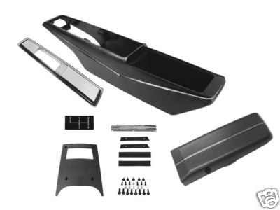 70 72 chevelle or el camino console kit manual transmission