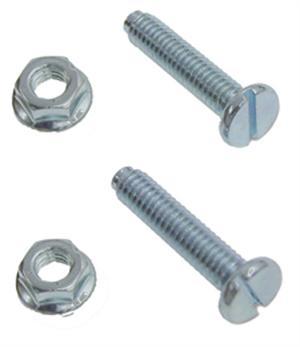 67 69 camaro hood adjuster screws pair