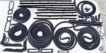 71-72 Nova Major Rubber Weatherstrip Kit U.S.A. Made